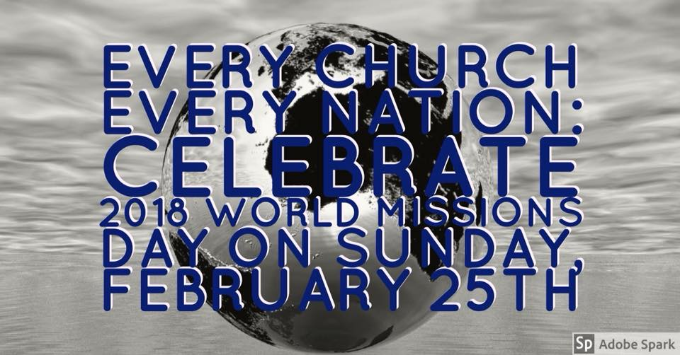 World Missions Sunday 2/25